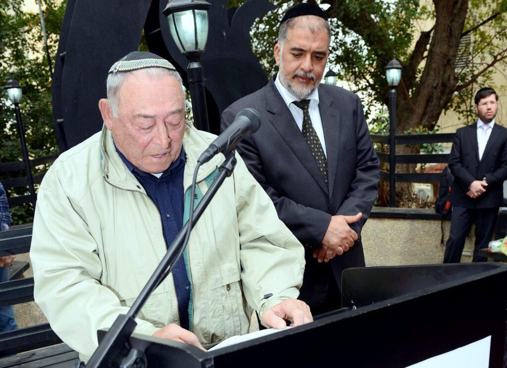 ניצול השואה יעקב ולדמן