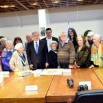 ראש ממשלת ישראל מר בנימין נתניהו נפגש עם ניצולי שואה של עמותת