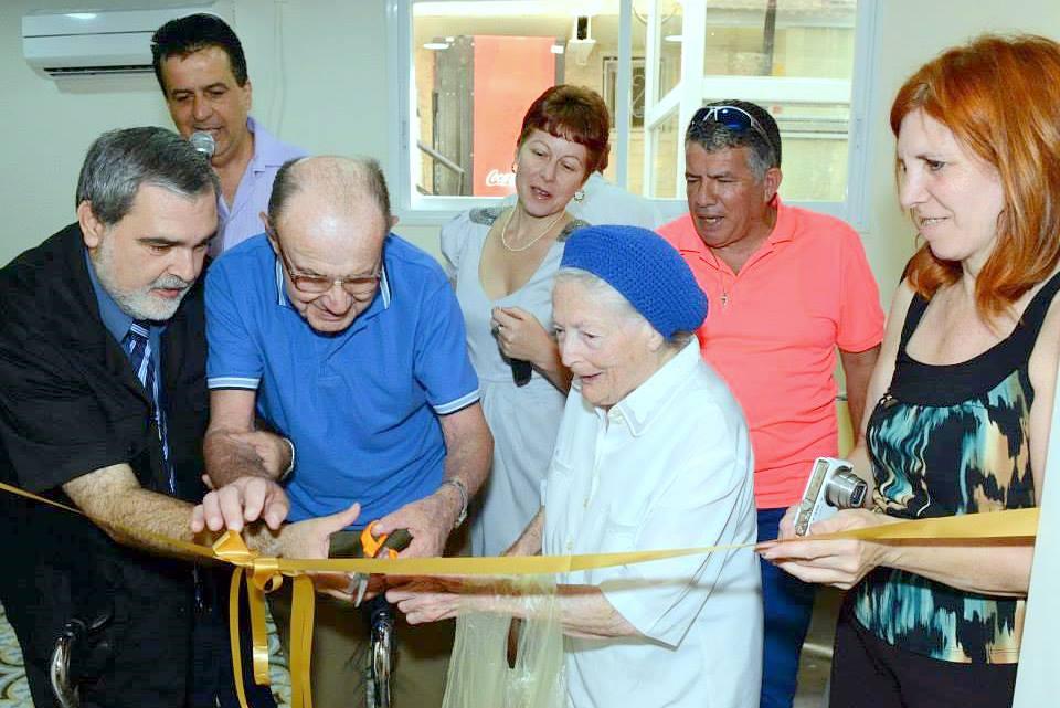 """נחנך מועדון חדש ומפואר ב""""בית החם לניצולי השואה"""" של עמותת """"יד עזר לחבר"""""""