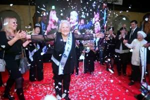 גב' ריטה (רבקה) ברקוביץ מגבעת נשר שליד חיפה , ניצולת השואה בת ה – 83