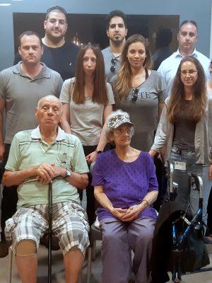 """עובדי חב' """"מנהרות הכרמל"""" סיירו בקריית החסד וביקרו ב""""מוזיאון השואה"""""""