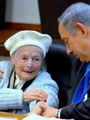"""""""סמל ההישרדות"""": בגיל 100 הלכה לעולמה ניצולת השואה שושנה קולמר"""