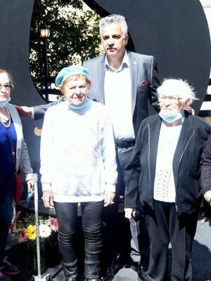 """""""אנו עומדים כאן בטקס יום השואה כדי להזכיר לכולם שאנחנו לא שוכחים ולא סולחים"""""""