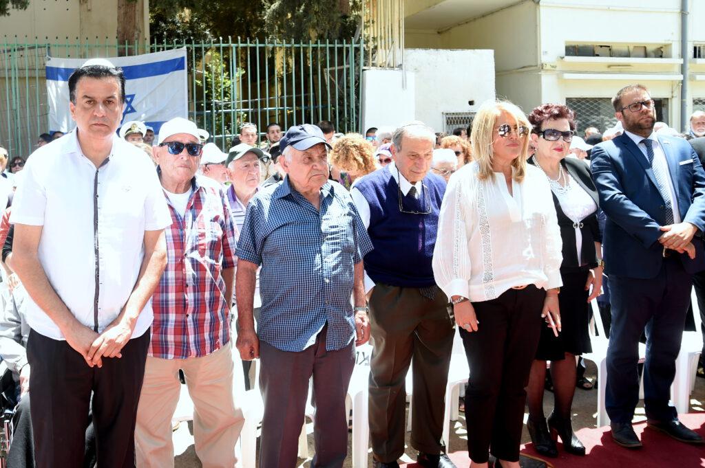 """יום הזיכרון לשואה ולגבורה צויין בטקס מרגש ב""""בית החם לניצולי השואה"""" של עמותת """"יד עזר לחבר"""" בחיפה"""