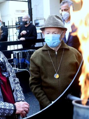 """בצל משבר הקורונה והסגר השלישי צויין """"יום השואה הבינלאומי"""" בטקס מרגש ומיוחד בעמותת """"יד עזר לחבר"""" בחיפה"""
