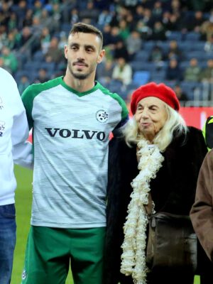 "Noble gesture for the community: ""Maccabi Haifa"" Football Club Donated 100,000 NIS to Holocaust Survivors at Yad Ezer L'Haver Association in Haifa"