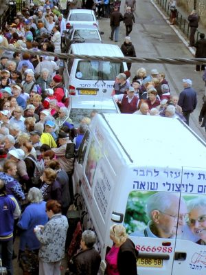 "On the eve of Rosh Hashanah 2019: Mr. Shimon Sabag: ""This year we will break all our food distribution records, year by year the numbers are only increasing. The Organization will ascertain no one is left hungry on Rosh Hashanah"""