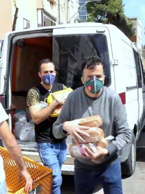 """מייסד ומנכ""""ל עמותת """"יד עזר לחבר"""" שמעון סבג: """"תודה ענקית למאות המתנדבים המסייעים לנו בחלוקת חבילות המזון לחג הפסח"""""""
