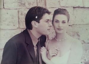 נעמי ומארק ביום חתונתם